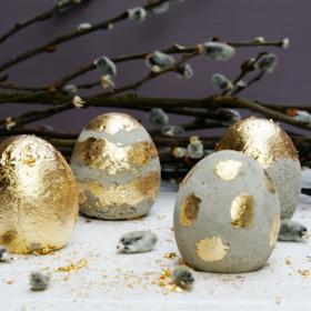 Törésbiztos tojás húsvétra, betonból!