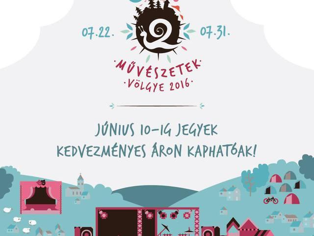 Művészetek Völgye 2016-ban is
