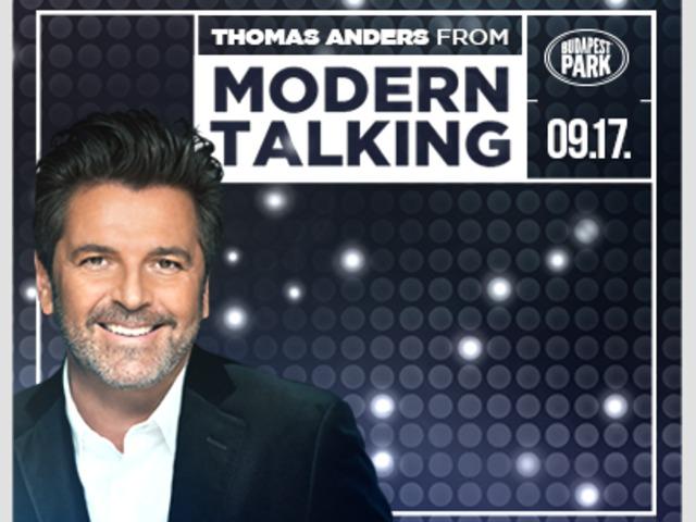 Thomas Anders from Modern Talking / 2016. szeptember 17.