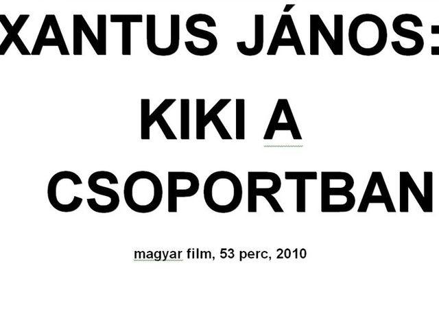 Mozivásznon Xantus János utolsó filmje