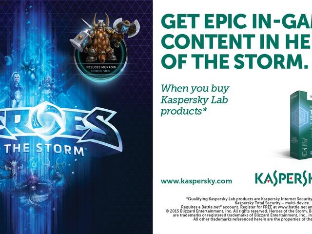 A Kaspersky Lab új ajánlatával bárki hőssé válhat