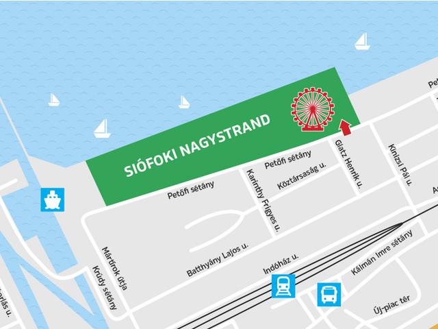 SIÓFOK: Különleges kerekezés a Balaton felett