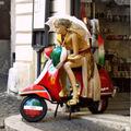 Ízléstelen szuvenír üzlet Rómában - a