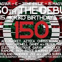 Program ajánló: The Debut & Kriko Birthday