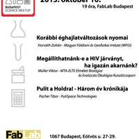 Budapest Science Meetup - Október