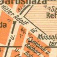 Rákospalota, Hitler Adolf út és Mussolini tér
