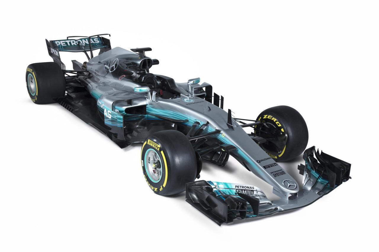 Csapat: Mercedes AMG Petronas F1 Team<br />Autó: W08 EQ Power +<br />Motor: Mercedes<br /><br />Versenyzők: Lewis Hamilton (#44), Valtteri Bottas (#77)<br />2016-os helyezés a konstruktőri pontversenyben: 1. (765 pont)