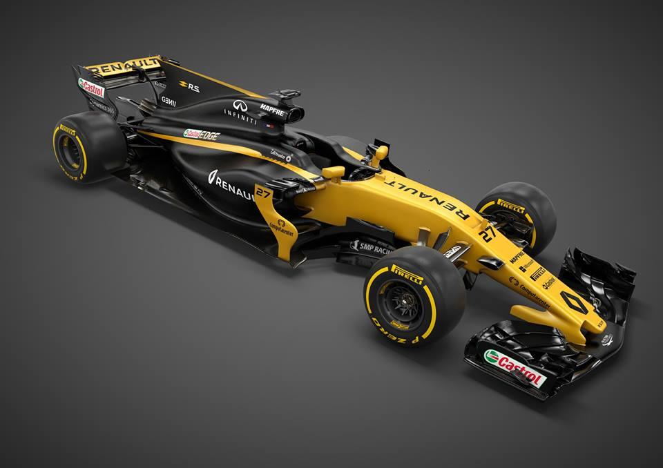 Csapat: Renault Sport Formula One Team<br />Autó: R.S.17<br />Motor: Renault<br /><br />Versenyzők: Nico Hülkenberg (#27), Jolyon Palmer (#30)<br />2016-os helyezés a konstruktőri pontversenyben: 9. (7 pont)