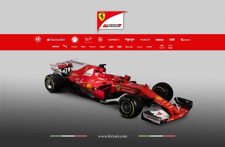 Csapat: Scuderia Ferrari<br />Autó: SF70-H<br />Motor: Ferrari<br /><br />Versenyzők: Sebastian Vettel (#5), Kimi Räikkönen (#7)<br />2016-os helyezés a konstruktőri pontversenyben: 3. (398 pont)