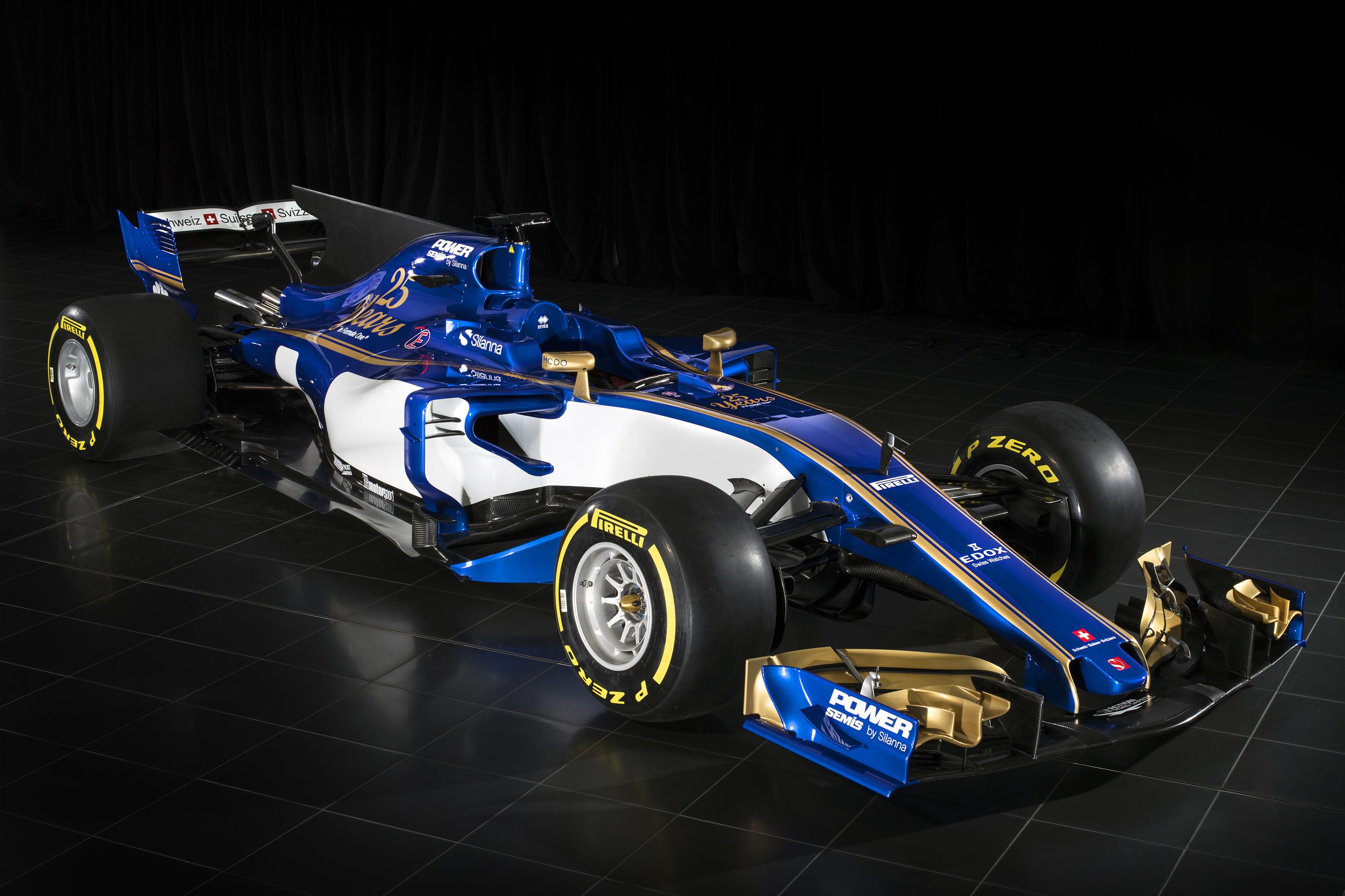 Csapat: Sauber F1 Team<br />Autó: C36<br />Motor: Ferrari<br /><br />Versenyzők: Marcus Ericsson (#9), Pascal Wehrlein (#94), Antonio Giovinazzi (#36)<br />2016-os helyezés a konstruktőri pontversenyben: 10. (2 pont)