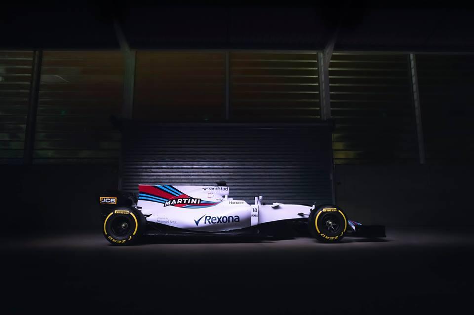 Csapat: Williams Martini Racing<br />Autó: FW40<br />Motor: Mercedes<br /><br />Versenyzők: Felipe Massa (#18), Lance Stroll (#19), Paul di Resta (#40)<br />2016-os helyezés a konstruktőri pontversenyben: 5. (138 pont)