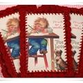 Horgolt képeslapok
