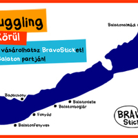 BravoStick a Balatonon!
