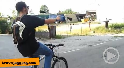 ördögbot és kerékpár