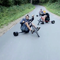 Őrült trike-osok! Te kipróbálnád?