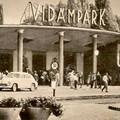 A Vidámpark főbejárata a 60-as években