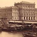 A Magyar Tudományos Akadémia székháza az 1890-es években