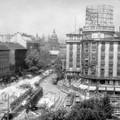 Az Astoria aluljáró építése a 60-as évek végén