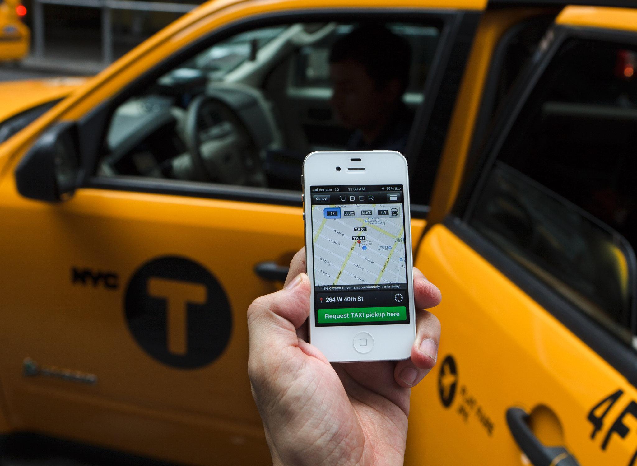 uber taxi szerver
