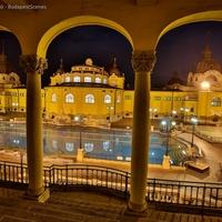A Széchenyi fürdő éjszakai világa