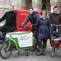 800 eurót kapnak a családok Bécsben, ha teherbringát használnak autó helyett