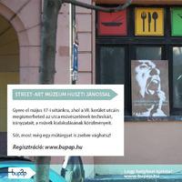 Vágj zsebre egy műtárgyat! - Street art séta és Huszti János pop up kiállítása