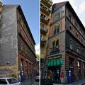 Neopaint Works faldekoráció-dömping Erzsébetvárosban