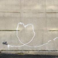 Banksy égre rajzoló repülőgépe Liverpoolban