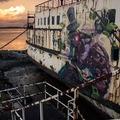 Mr. Zero és Fat Heat óceánjáróra festettek Walesben! Művészettel a korrupció ellen - The BlackDuke premier