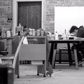 Műterem látogatás és interjú Nychosnál