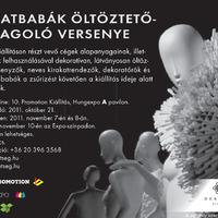 Kirakatbaba öltöztető verseny