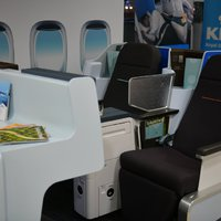 Budapesten mutatták be a KLM World Business Class mockup-ját!