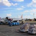 Rekord cargoforgalom az év első hét hónapjában Budapesten