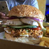 Dinószárny és sajtburger Gyöngyösön