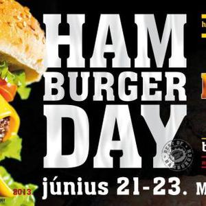 Mától három napon keresztül: Hamburger Day!