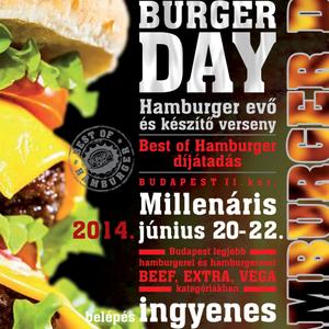 Figyelem: Hamburger Day helyszínváltozás!