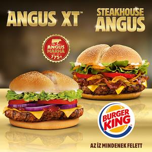 Angus kétszer a Burger Kingben