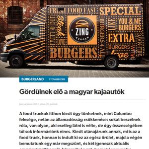 Food Truck Magyarország - Burgerland @ Player