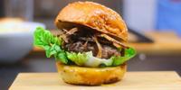A vlogger séf - Hagymás rostélyos burger