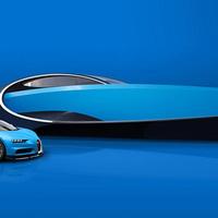 Bugatti a vízen - ez most a legmenőbb jacht