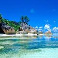 Indiai-Óceán ékköve: kókuszpálma és kék zafír