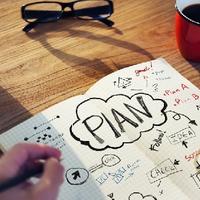 Építs vállalkozási stratégiát! Tervrajz és infografika