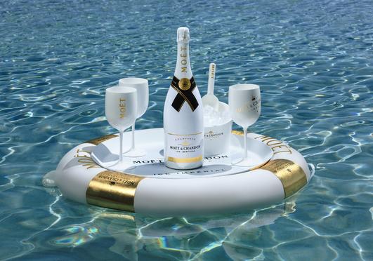 A világ első jéggel szervírozott champagne-a, a Moët Ice Impérial vár Balatonfüreden