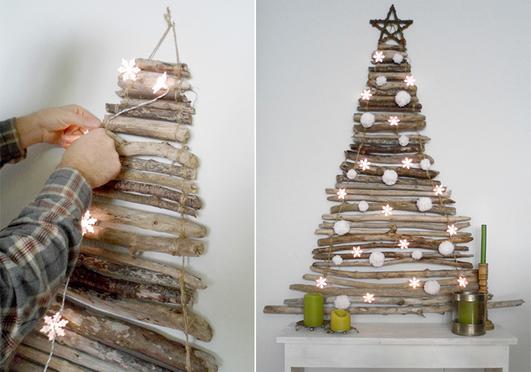 A 30 legkreatívabb helytakarékos karácsonyfa!