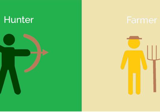 Vadász vagy, vagy földműves?