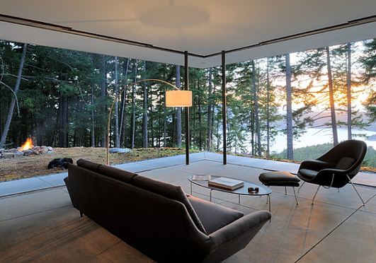 A 25 leginspirálóbb minimalista nappali a világon