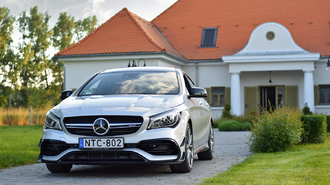 Sportos luxus 4 főre? Mercedes-Benz CLA 45 AMG (2017)
