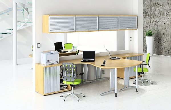 30 gyes tipp a dolgoz szob d hat kony s praktikus for Sales office design ideas