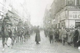 A román hadsereg betör Erdélybe