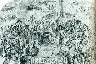 A Szent Korona temetése